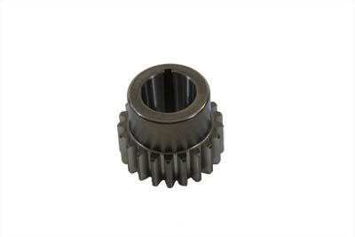 PINION SHAFT DRIVE GEAR, BLACK VTWIN 12-9939