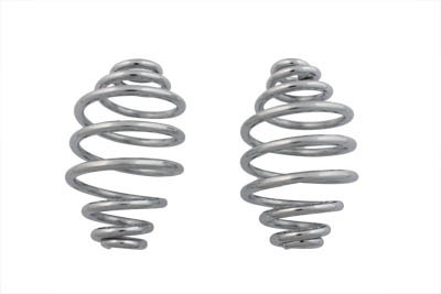 "V-Twin 13-0548 - Chrome 5"" Seat Spring Set"