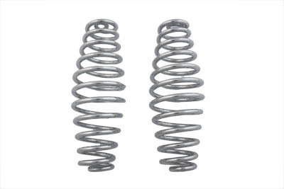 "V-Twin 13-0741 - Chrome 7"" Seat Spring Set"