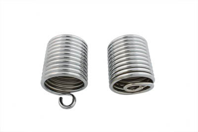 V-Twin 13-9198 - Chrome Auxiliary Seat Spring Set