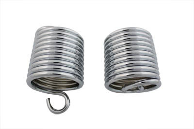 V-Twin 13-9240 - Auxiliary Seat Chrome Spring Set