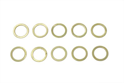 V-Twin 14-0153 - Fuel Petcock Valve Rod Lower Brass Seal