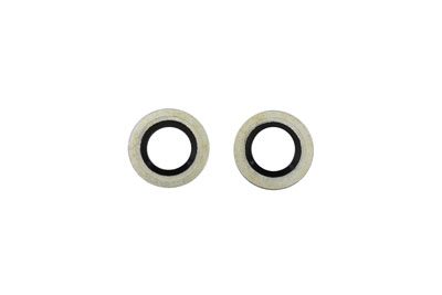 V-Twin 14-0568 - Banjo Bolt Washer with O-Ring 10mm
