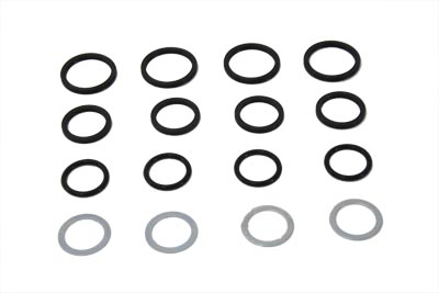 V-Twin 14-0669 - James Pushrod Cover Seal Kit
