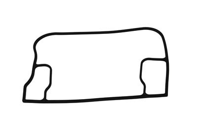 V-Twin 14-0946 - Upper Rocker Box Gasket V2