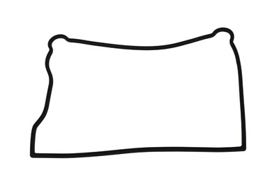 V-Twin 15-0996 - James Lower Rocker Box Gasket