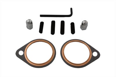 V-Twin 15-1075 - Exhaust Stud Nut and Gasket Kit