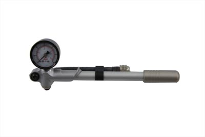 V-Twin 16-0041 - Manual Shock Pump Tool with Gauge