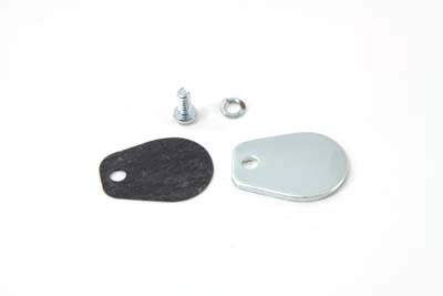 V-Twin 17-0119 - Zinc Block Off Plate Kit