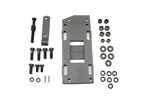 V-Twin 17-0245 - Transmission Mounting Plate Kit Parkerized
