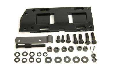 V-Twin 17-0247 - Transmission Mounting Plate Kit Black