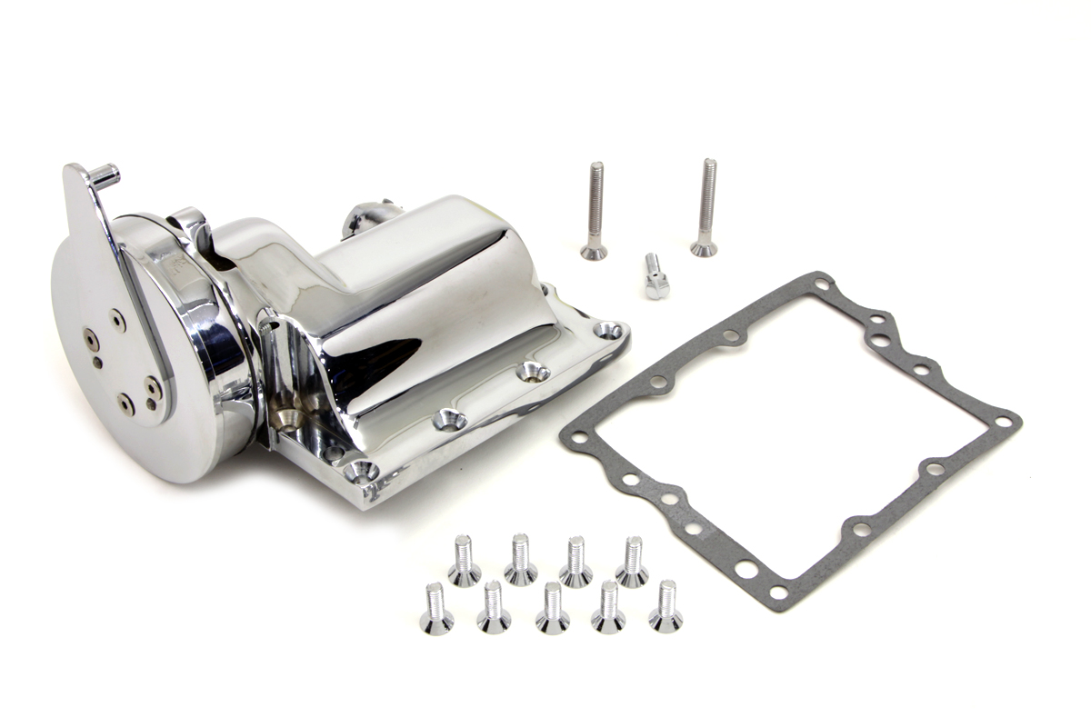 V-Twin 17-0875 - Chrome Ratchet Top Shifter Assembly