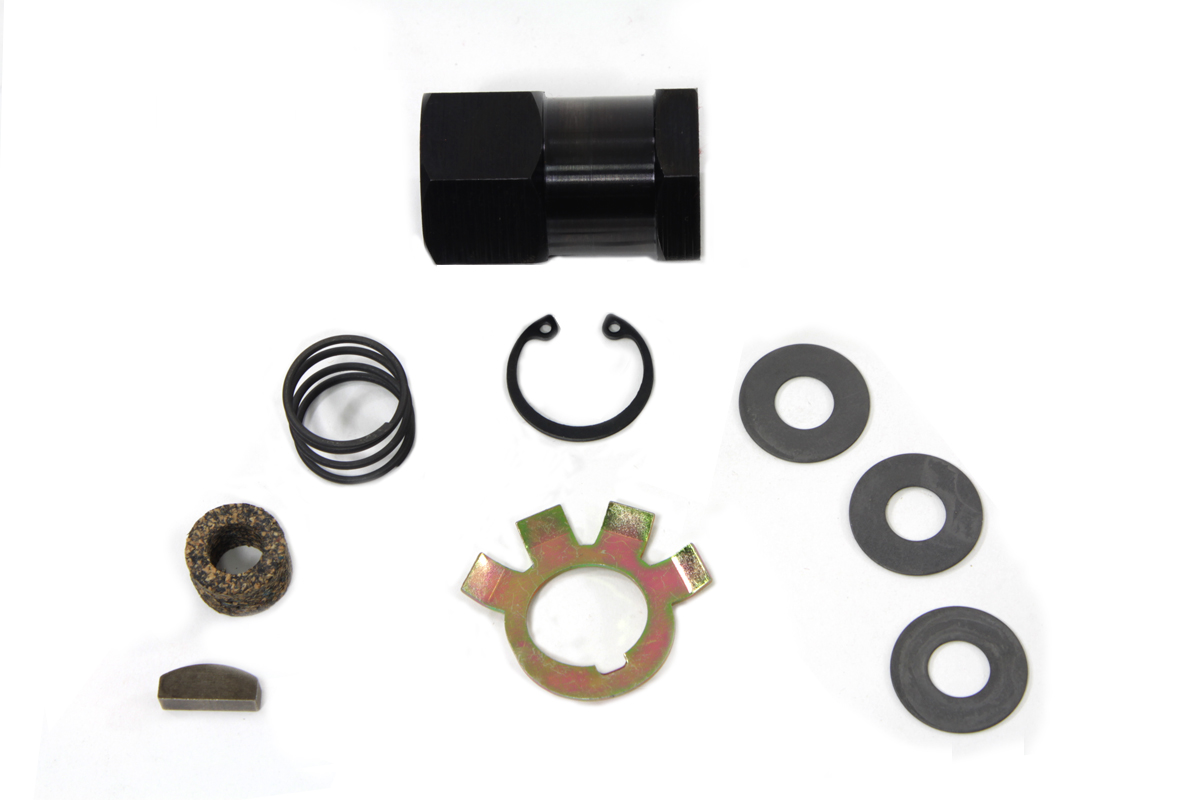 V-Twin 17-0881 - Replica Clutch Hub Nut Kit Parkerized