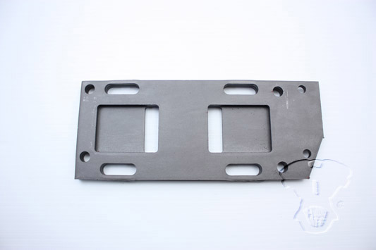 V-Twin 17-6654 - Replica Parkerized Transmission Mounting Plate