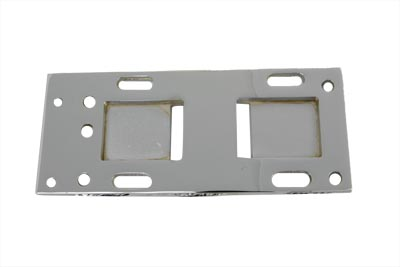 V-Twin 17-6658 - Chrome Transmission Mounting Plate