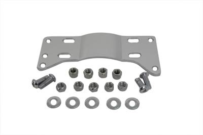V-Twin 17-9994 - Chrome Transmission Mounting Plate Kit