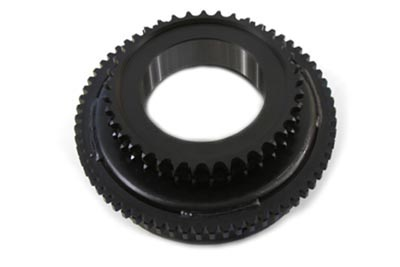 V-Twin 18-0152 - Black Clutch Drum with Starter Gear