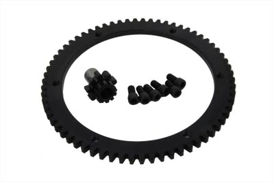 V-Twin 18-0361 - 66 Tooth Clutch Drum Ring Gear Kit
