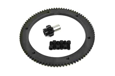 V-Twin 18-0365 - 84 Tooth Clutch Drum Ring Gear Kit