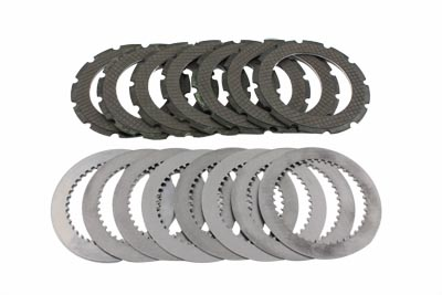 V-Twin 18-0701 - Round Dog Clutch Plate Set