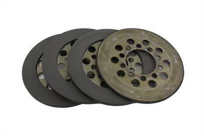 V-Twin 18-1124 - Police Clutch Steel Plates