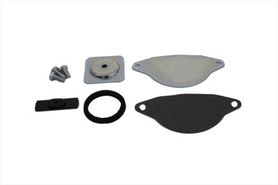 V-Twin 18-1136 - Starter Block Off Kit Zinc