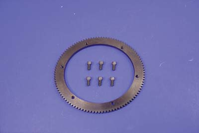 V-Twin 18-8319 - 102 Tooth Clutch Drum Starter Ring Gear Bolt-On