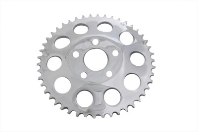 V-Twin 19-0020 - Rear Chrome 46 Tooth Sprocket