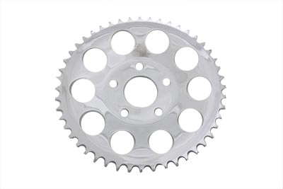 V-Twin 19-0022 - Rear Sprocket Chrome 51 Tooth