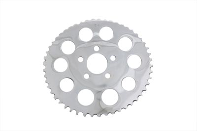 V-Twin 19-0043 - Rear 51 Tooth Chrome Sprocket