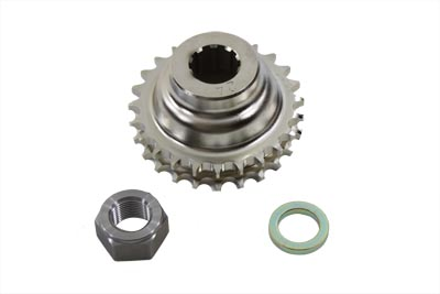 V-Twin 19-0106 - 24 Tooth Engine Sprocket with Spline