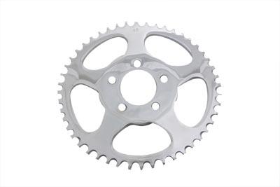 V-Twin 19-0218 - Rear Sprocket Chrome 48 Tooth
