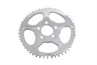 V-Twin 19-0221 - Rear Sprocket Flat Chrome 51 Tooth