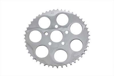 V-Twin 19-0251 - Rear Sprocket Flat Chrome 48 Tooth