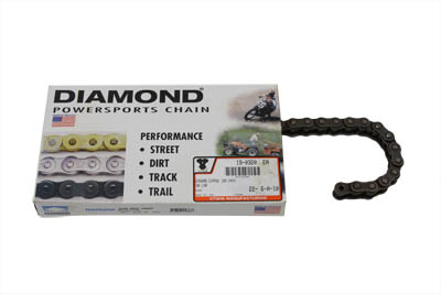 V-Twin 19-0323 - Standard .530 106 Link Chain