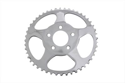 V-Twin 19-0672 - Rear Sprocket Chrome 48 Tooth