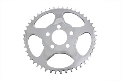 V-Twin 19-0674 - Rear Sprocket Flat Chrome 48 Tooth