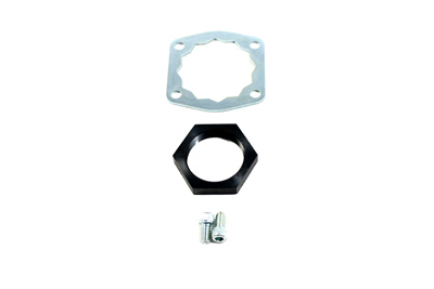 V-Twin 20-0308 - Front Belt Drive Lock Plate and Nut Kit