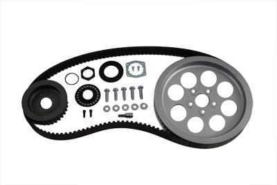 V-Twin 20-0314 - Rear Belt and Pulley Kit Alloy