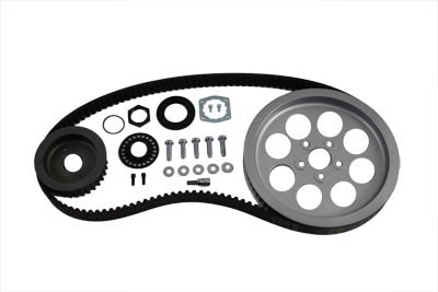 V-Twin 20-0317 - Rear Belt and Pulley Kit Alloy