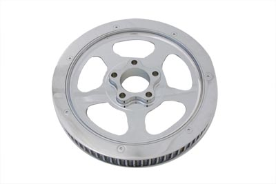 V-Twin 20-0354 - Rear Drive Pulley 70 Tooth Chrome