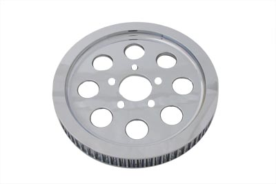 V-Twin 20-0377 - Rear Drive Pulley 61 Tooth Chrome