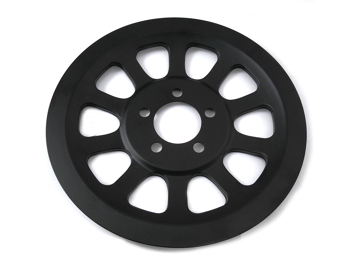 V-Twin 20-0967 - Black Rear Pulley Cover