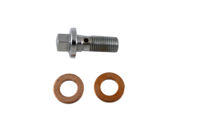V-Twin 2190-3 - Brake Hose Banjo Bolt Domed Type 10mm