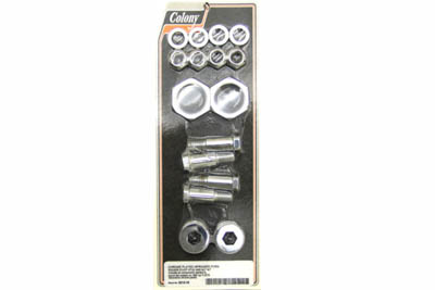 V-Twin 2213-16 - Chrome Rocker Bolt Kit