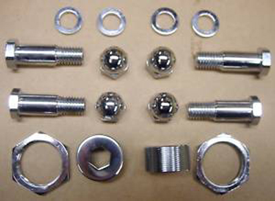 V-Twin 2214-16T - Chrome Rocker Bolt Kit