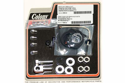 V-Twin 2568-24 - Guide Spotlamp Rebuild Kit