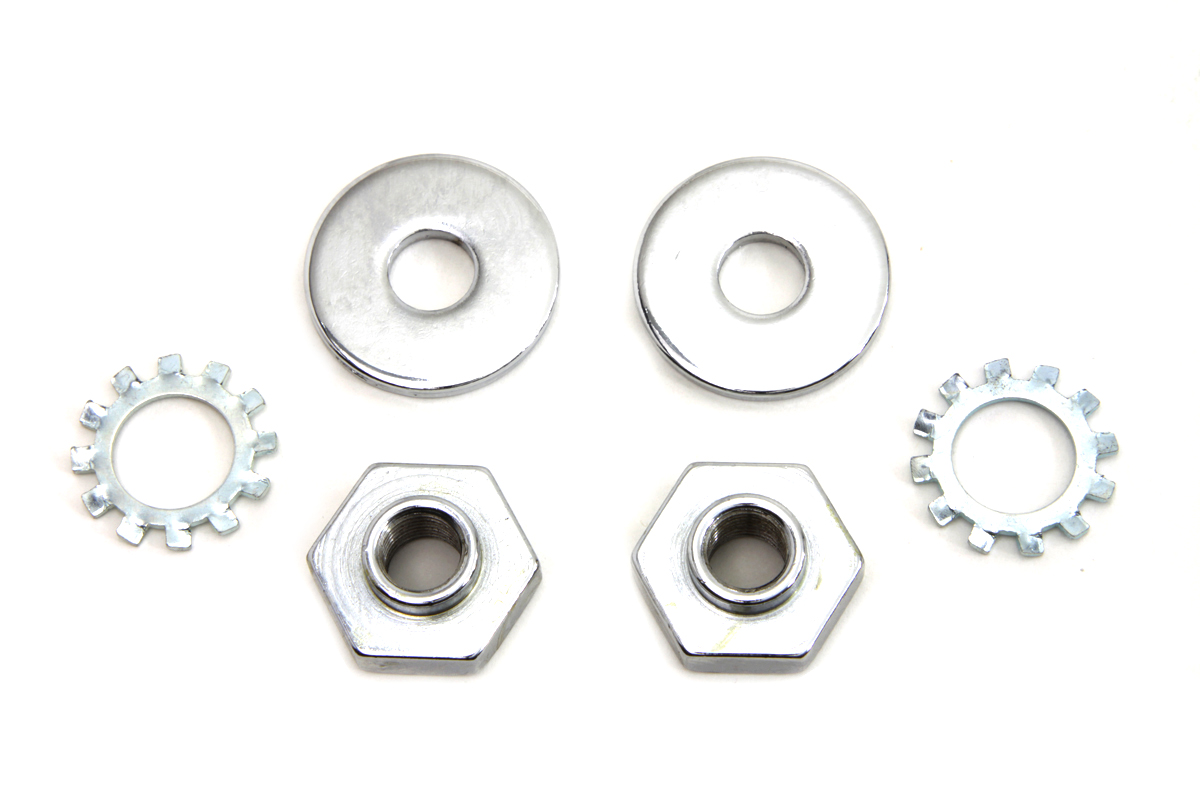 V-Twin 2757-6 - Spotlamp Fork Bracket Bolt and Nut Kit