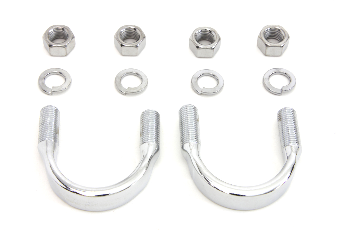 V-Twin 2768-10 - Engine Bar Mounting Kit Chrome