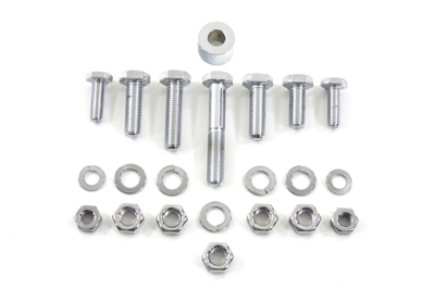 V-Twin 2772-22 - Exhaust Clamp Bolt Kit Chrome